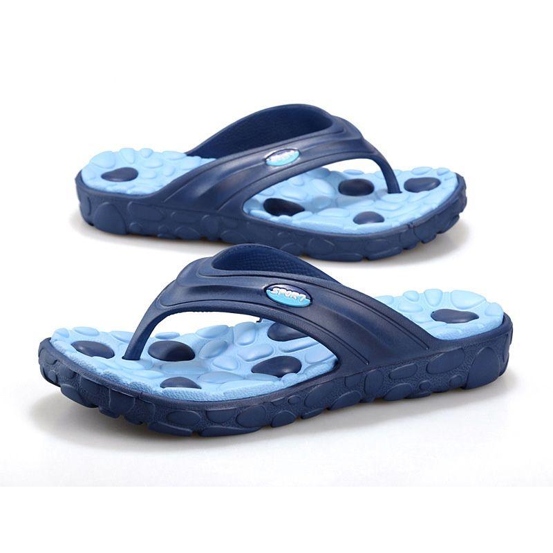 e3dbccf9691cd New Designer Men Flip Flop Brand Slippers Word Fashion Sandals Pebbles  Massage Bottom Beach Slippers Bathroom Slippers For Men Wholesale Winter  Boots For ...