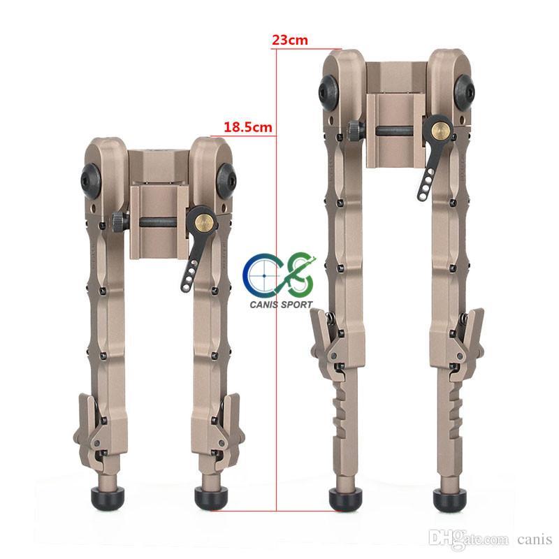 Yeni Varış Taktik SR-5 Hızlı Ayırın Bipod Alüminyum Açık Açık Taktik Aksesuar Için Yüksek Picatinny Weaver Bipod CL17-0029
