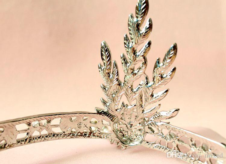 The Great Gatsby Accessori capelli Cristalli Perla Nappe capelli Cerchietti capelli Cerchietti capelli Sposa Tiara nuziale
