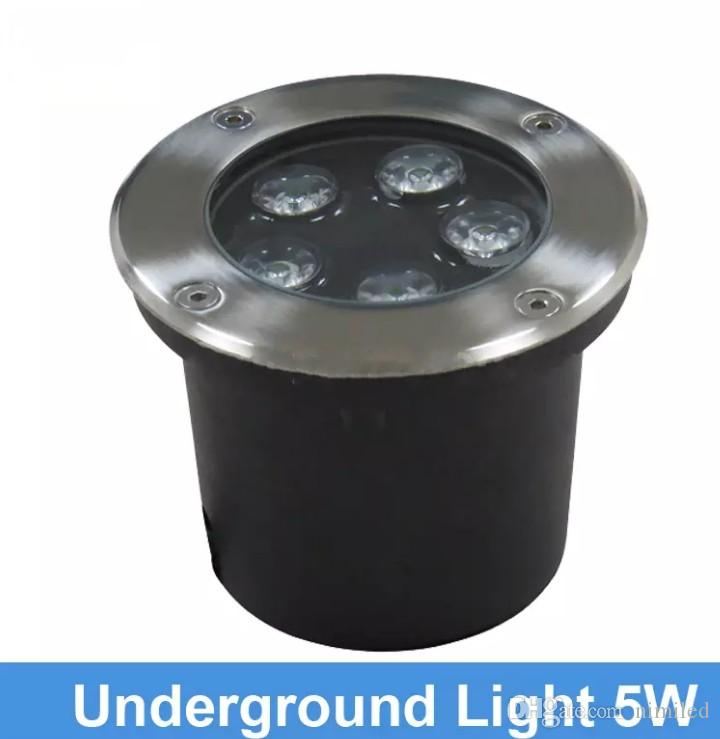 Lights & Lighting Led Lamps Led Underground Light Lamp 5w 10w Ip67 Recessed Step Outdoor Dc12v 220v Ac Buried Garden Path Spot Recessed Inground Lighting