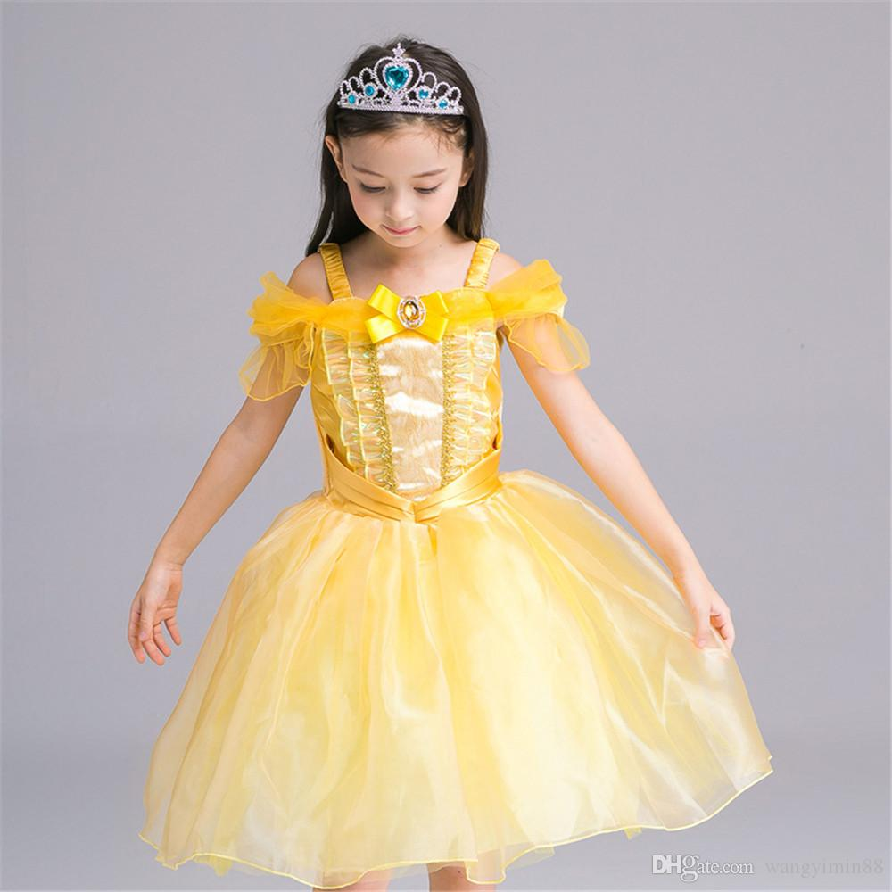 2018 2017 Movie Beauty And The Beast Belle Cosplay Costume