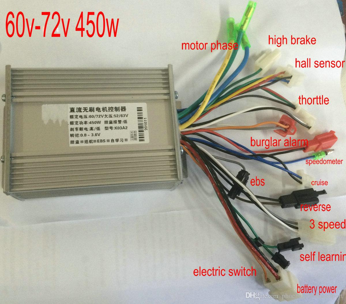 2019 24v36v48v60v72v 400w450w bldc motor controller. Black Bedroom Furniture Sets. Home Design Ideas