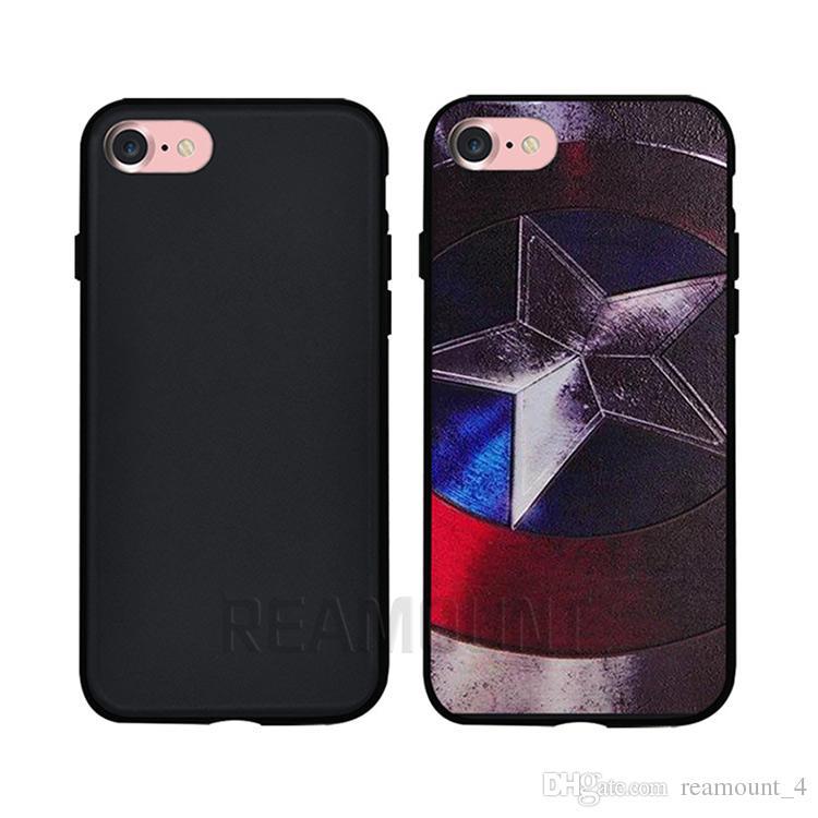 Samsung not 7 Için toptan Telefon Kılıfı 3D Kabartma DIY Özel LOGO Kabuk Telefon Kapak Kılıf TPU Şeffaf kılıf Samsung not 5 için