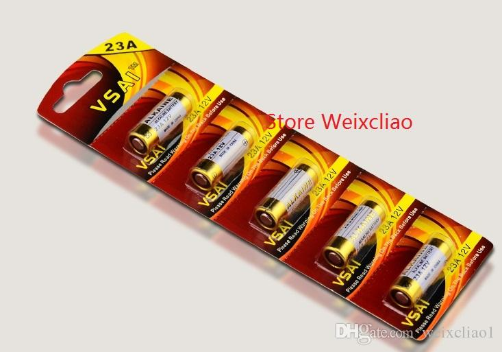 1 23A 12V 23A12V 12V23A L1028 pile alcaline sèche 12 Volt Piles carte VSAI Livraison Gratuite