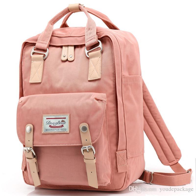 Brand Teenage Backpacks For Girl Waterproof Korean Canvas Printing ...