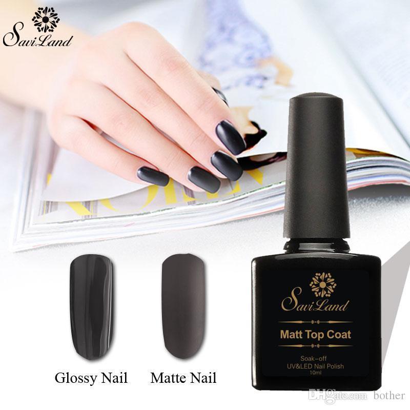 Wholesale Saviland Matte Gel Nail Polish 10ml Long Lasting Nails ...