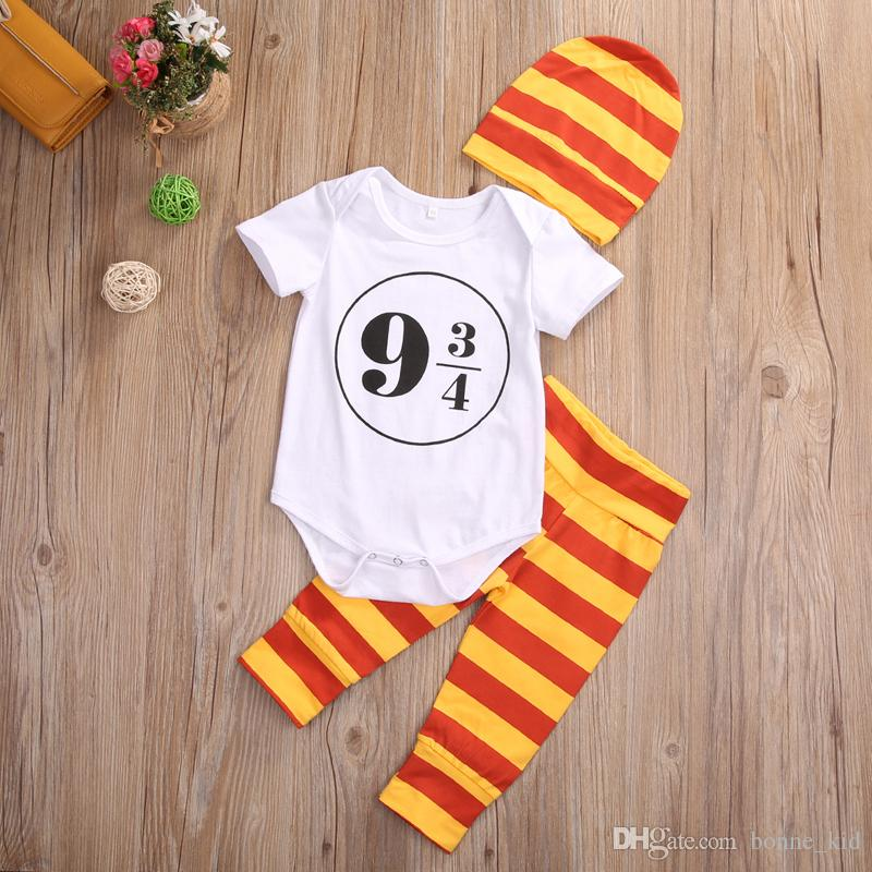 2019 Baby Girl Boy Harry Potter Costume Outfits 0 24m Romper