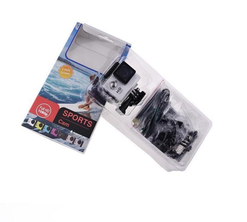 SJ4000 1080P Full HD Action Digital Sport Camera 2 pulgadas de pantalla debajo de la prenda impermeable 30M DV Grabación Mini Sking Bicycle Photo Video Cam