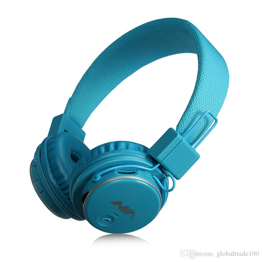 Original NIA Q8 Headband Stereo Wireless Bluetooth Headphones Foldable Sport Headsets with Mic FM Radio Support TF Card 4 in 1 For iPhone