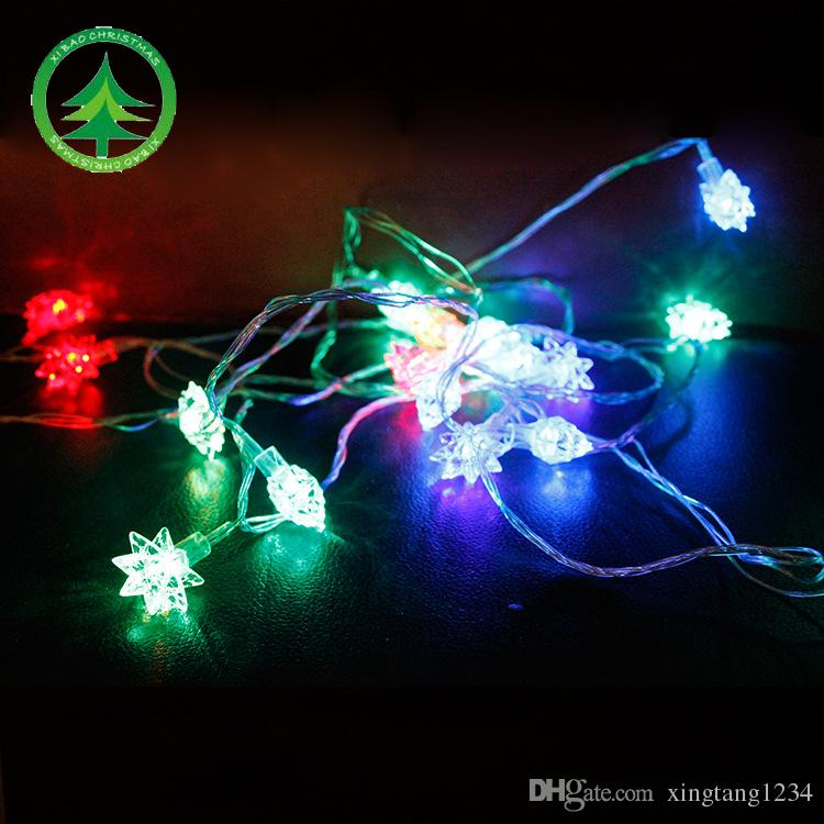christmas craft led multi colored lights string christmas festival red color l hexagonal lamp string christmas decorations to buy christmas decorations to