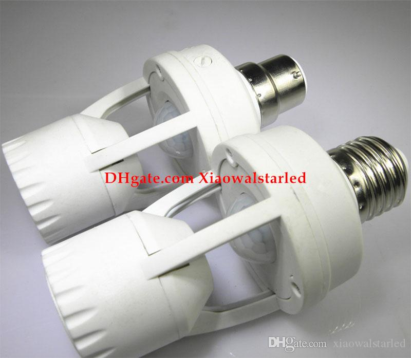 Infrarot menschlichen Körper Induktionslampenhalteradapter E27 B22 Schraube Induktionslampenfassung LED-Induktionslampenschalter