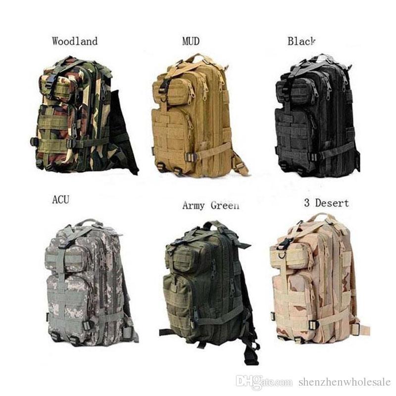 ed8c188af5 30L Outdoor Sport Military Tactical Backpack Molle Rucksacks Camping  Trekking Bag Backpacks Free DHL Fedex Cool Backpacks Travel Backpack From  ...