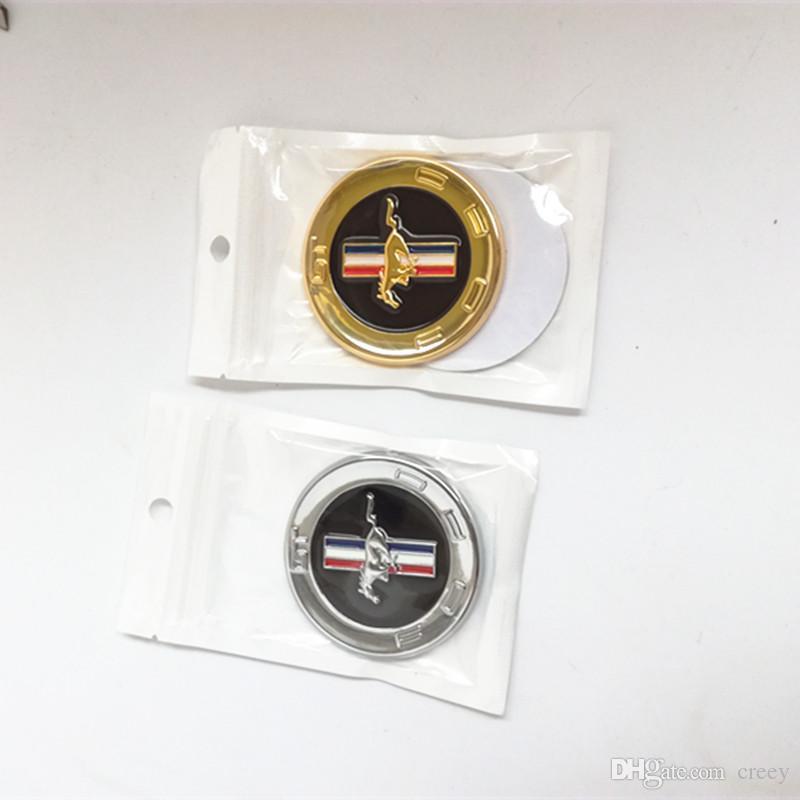 1 PZ Car styling 3D CHROME METALLO EMBLEMA MUSTANG HORSE emblema adesivo corpo adesivo adesivo distintivo universale
