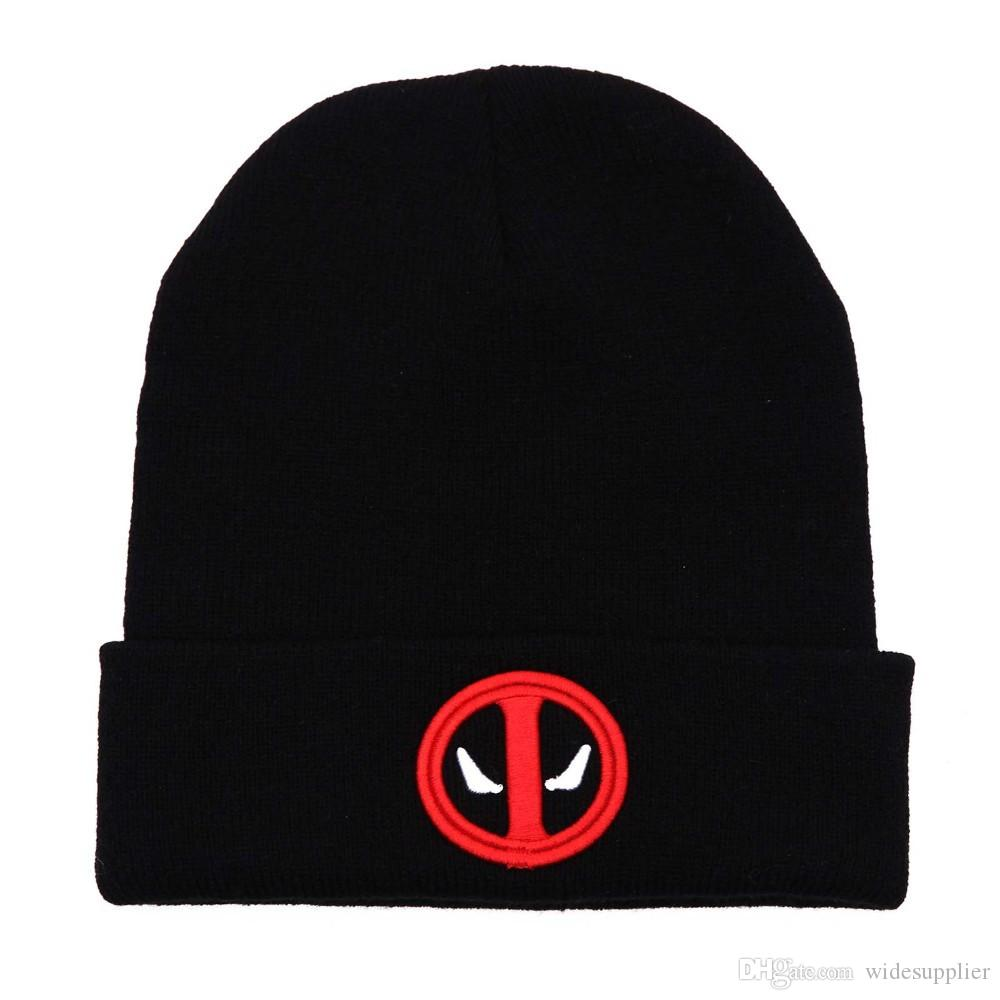 2017 new Korean version beanies hats hip-hop flash clothing embroidered wool cap men and women autumn and winter warm sets of knitted hats