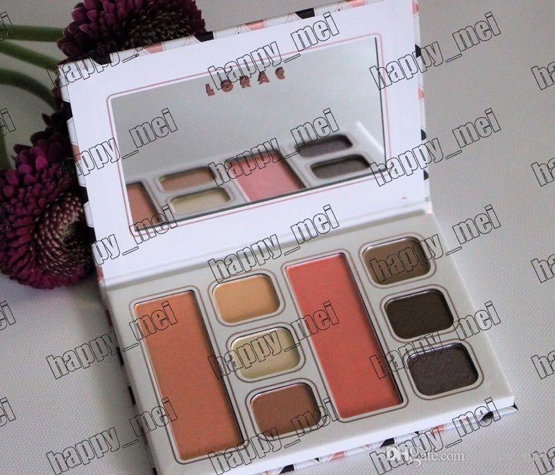 Frete Grátis ePacket Nova Maquiagem Olho Olho Lábio Paleta 2 Blushes 6 Cores Sombra de Olho!