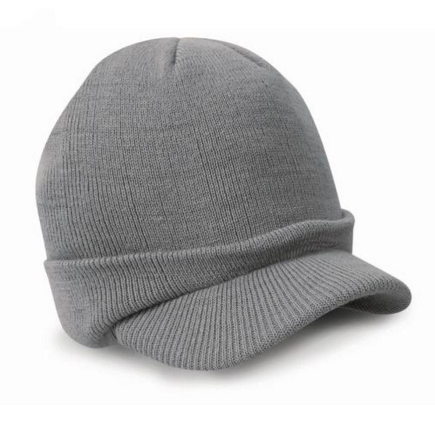 2019 Wholesale Newly Stylish Fashion Esco Peaked Army Beanie Hat Warm Wooly  Winter Mens Ladies Cadet Ski Cap With No8 From Duweiha 3e21e793978