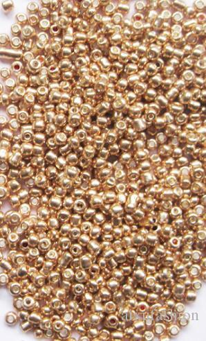 Gold Silver Color 2mm Crystal Glass Spacer Beads Czech Seed Beads For 3mm 4mm Jewelry Handmade DIY Material Findings Loose Beads