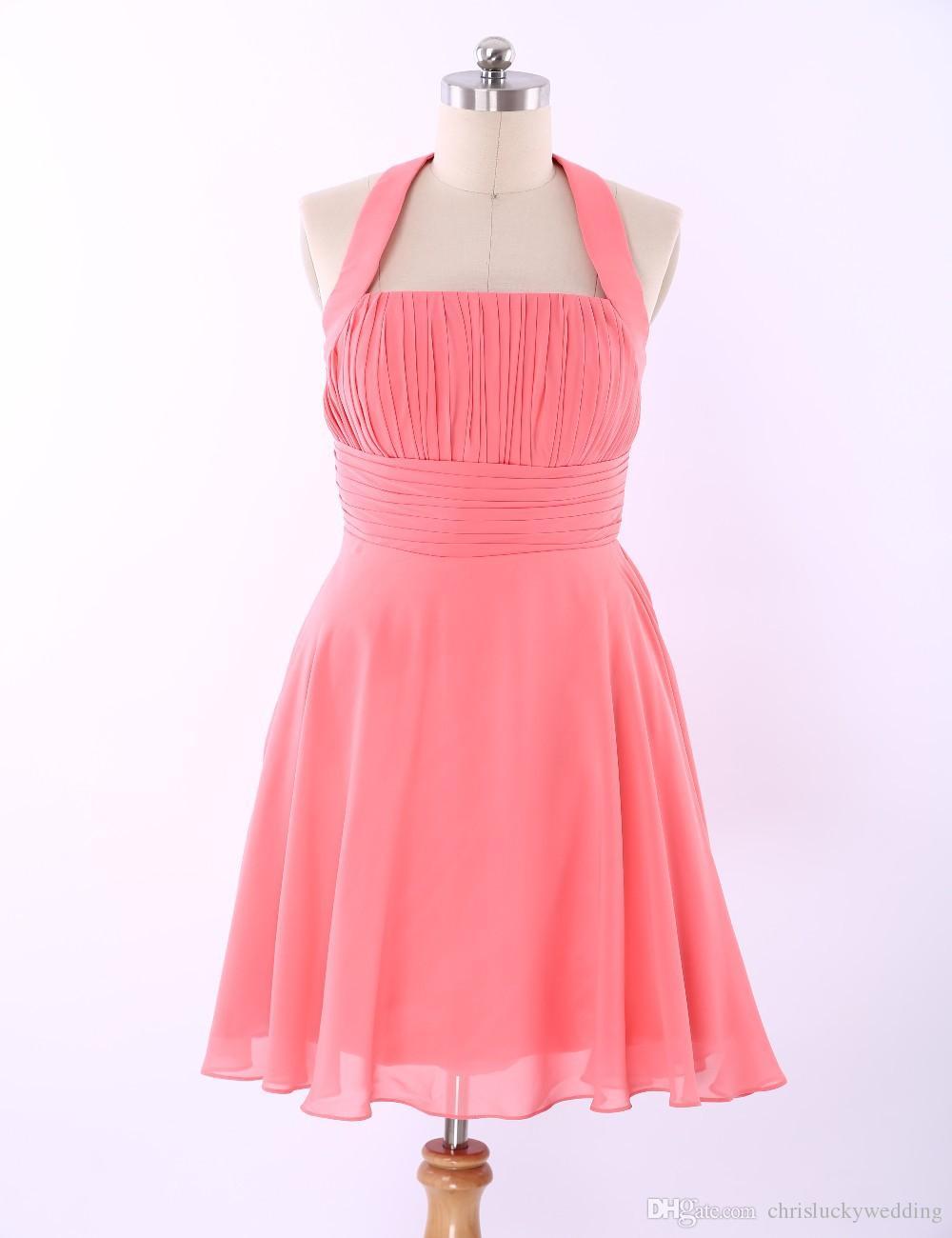 New Fashion 8th Grade Graduation Chiffon Short Custom Short Homecoming  Dresses Halter Off The Shoulder Prom Formal Party Gowns Dresses Red Long Dress  Semi ... ad2b1d33d