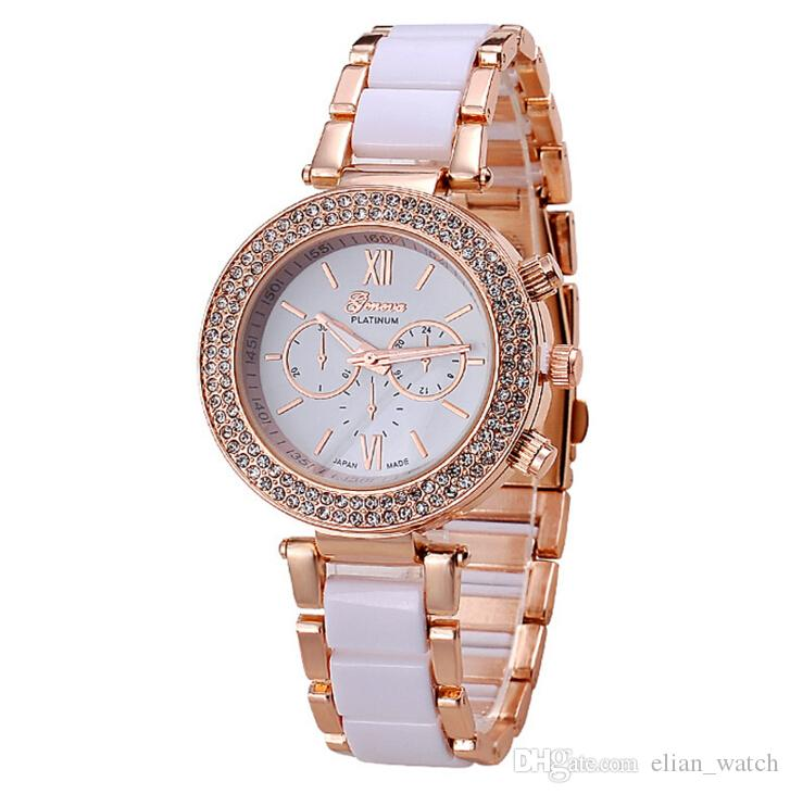 New Hottest Fashion Flower Dial Watch New Arrival Geneva Watch Women Casual Watch Hot Sale Quartz Wristwatches Women's Watches