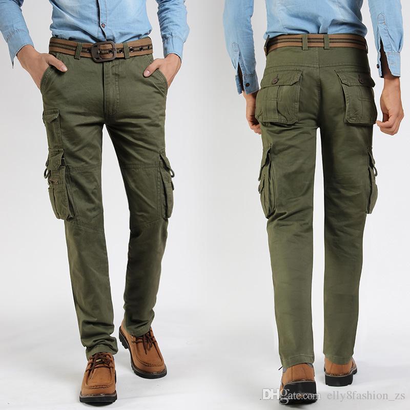 Lavoro Uniformi Uomo Casual Pantaloni In Da Acquista x7Pzpz