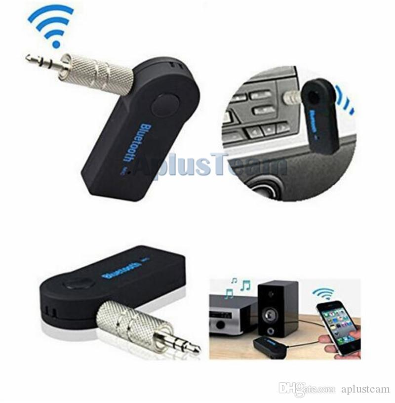 Universal Wireless Blutooth Music Receiver 3.0 Audio Stereo Speaker 3.5mm Handsfree Music Adapter For Car Headphones Mobile Phone