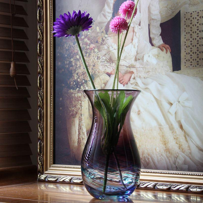 Classic Bottle Glass Vase Fashion Vase Decoration Vase Wedding Gift