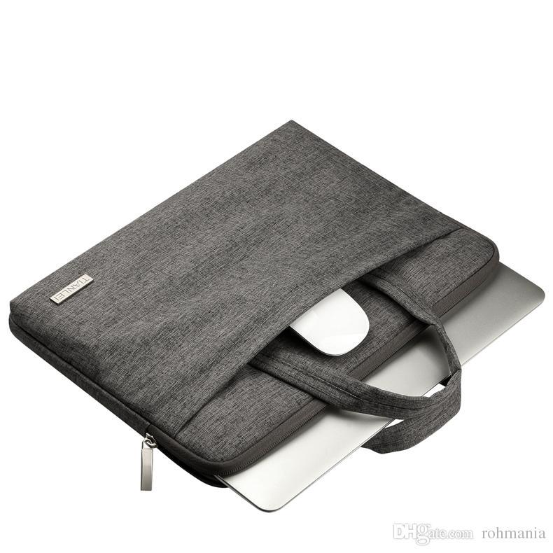 13-15,6 Zoll-Laptop-Hülsen-Aktentasche Wasserabweisend Handtasche mit Griff für MacBook Air Pro Microsoft Surface-Tasche Notebook-Tasche