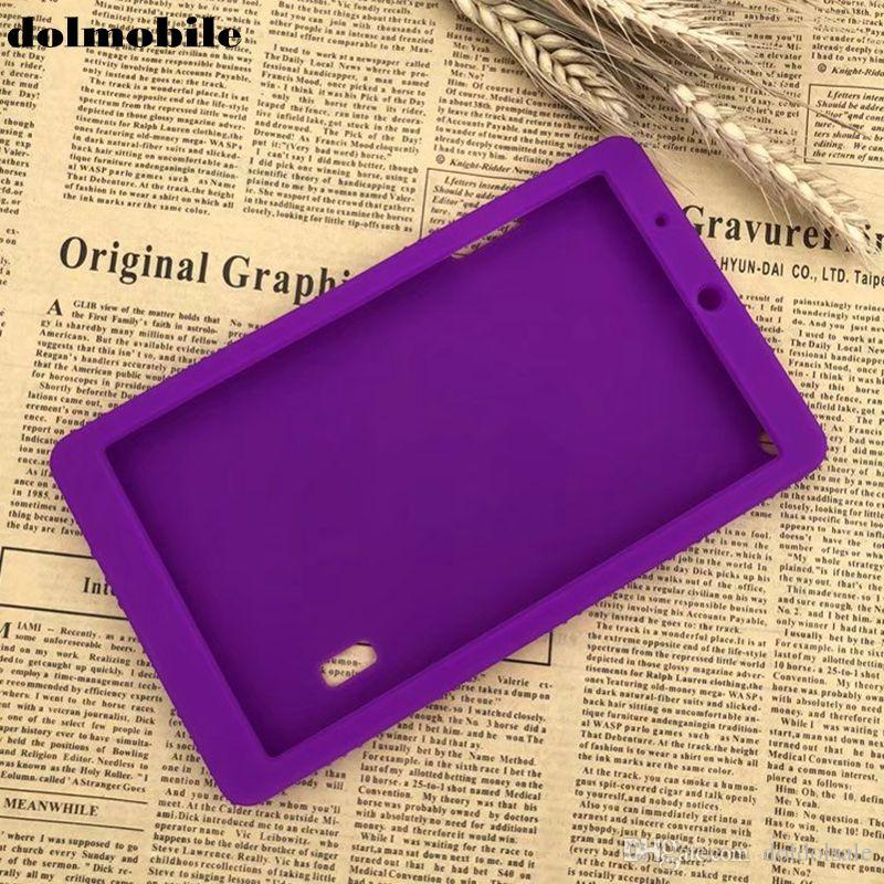 dolmobile Soft TPU Back Cover Silicone Case for Huawei MediaPad T3 7.0 BG2-W09 Honor Play Pad 2 7 Tablet + Stylus Pen