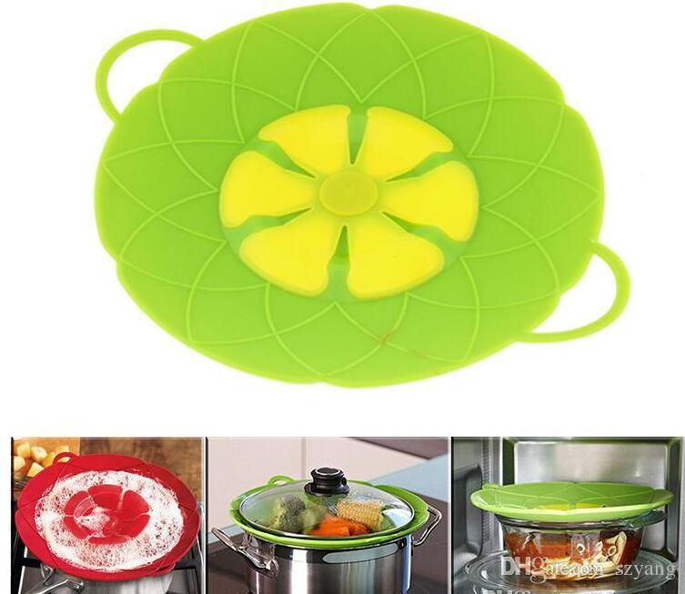 28 см больший размер кипения разлива пробка Силиконовая крышка горшок крышка крышка кастрюля крышки посуда кастрюля посуда части кухонные принадлежности