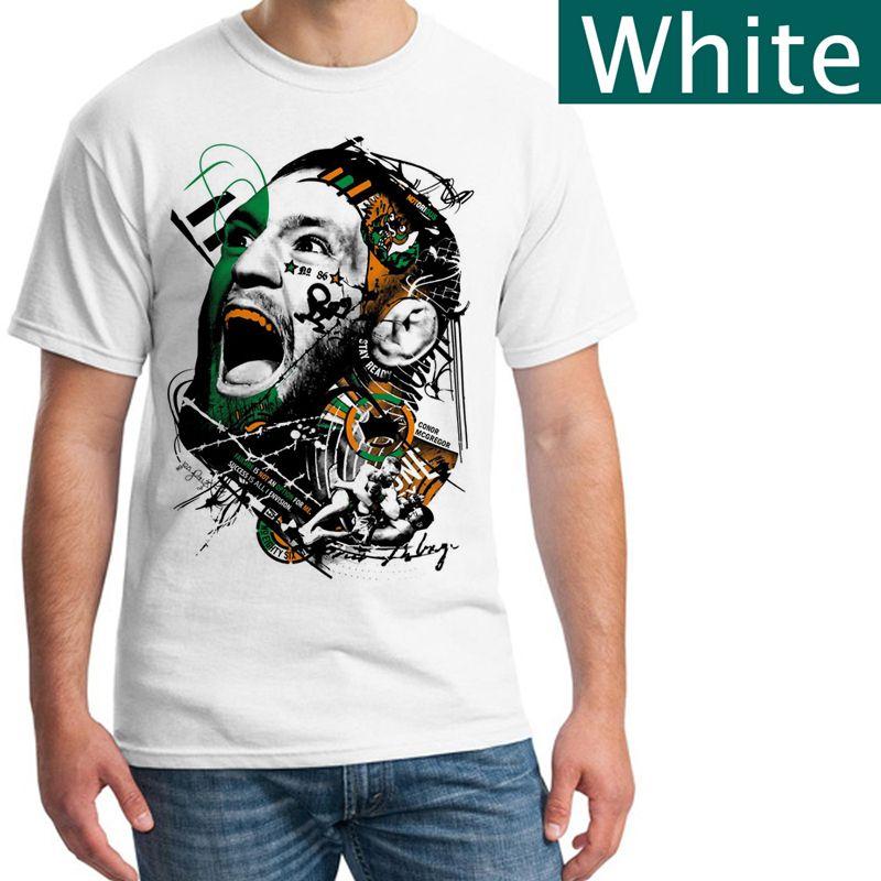 a12d63893966 Conor Mcgregor T Shirt Men'S Short Sleeve Slogan T Shirts Vintage T ...