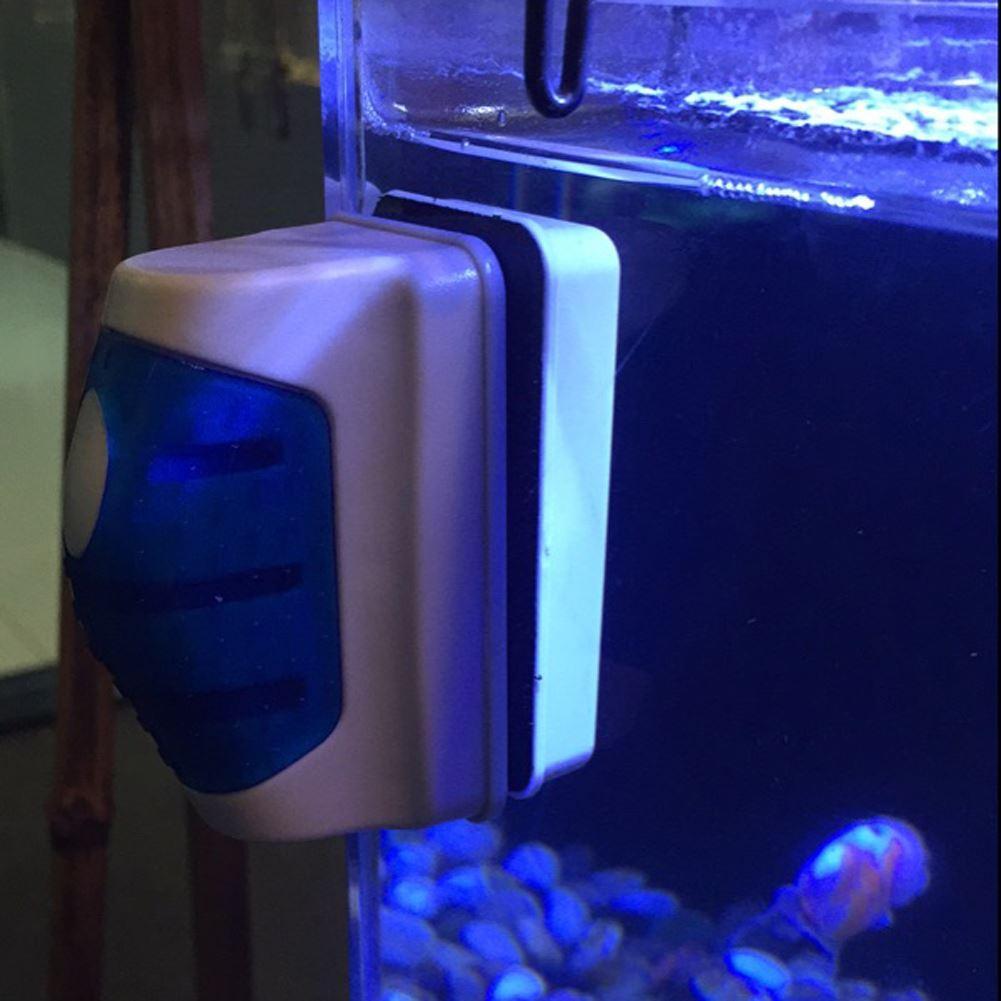 tanque de peixes de aquário magnético de vidro raspador de algas limpador escova flutuante escova magnética tanque de aquário de peixes de aquário ferramentas