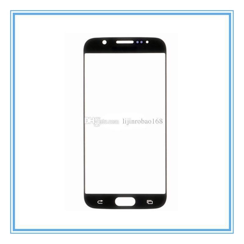 Compre 10 Unids   Lote Pantalla Táctil Para Samsung Galaxy S6 G920 G920F SM  G920 G9200 Pantalla Táctil Frontal Reemplazo De La Cubierta De Vidrio  Exterior ... 02cdcc3841