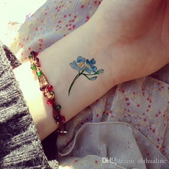 La protection de l'environnement imperméable jetables autocollants de tatouage personnalisé couleur encre marine série tatouage peut être personnalisé autocollants de tatouage
