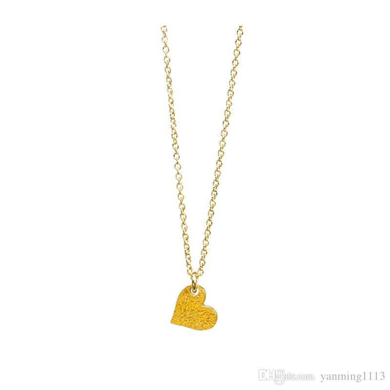 Beautiful Love Pendant Dogeared Necklace Valentine Day Woman Gift