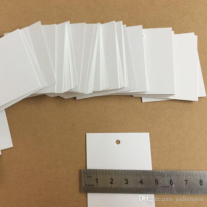 5 * 5 cm Blank label angepasst Kleidung Etiketten information display tags Karton Preis Tags papier tag kostenloser versand