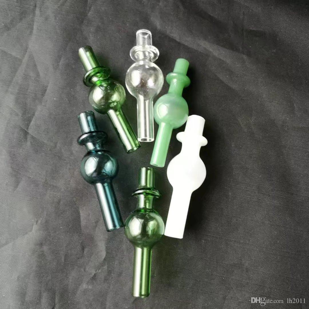 de humo mirada fija, tubos de vidrio nuevo y único bongs de vidrio Tubos de agua que fuma plataformas petrolíferas fumadores con Droppe