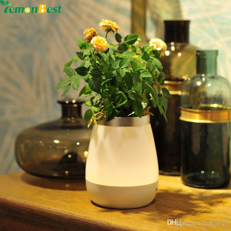 2017 Rechargeable Vase Lamp Led Night Light Bed Desk 350ml 3 Modes Touch Control For Bedroom Living Room Indoor Decoration 18650 From Ledlampl