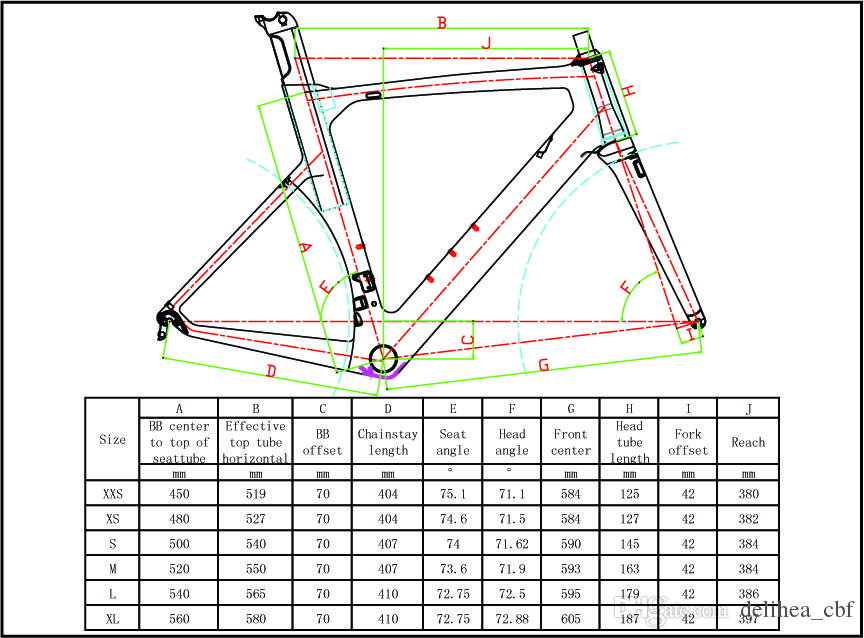 New Carbon Road Bike Frame Carbon Fibre Cycling Race Bicycle Bb386 ...