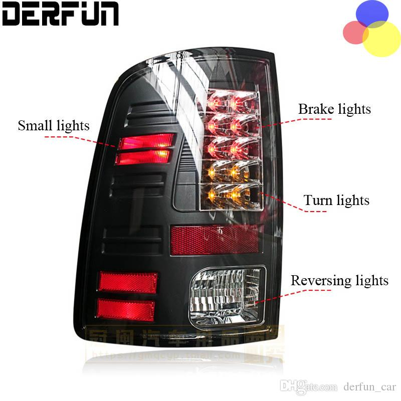 Fit For Dodge Ram 1500 LED Tail Lamp Light 2011 - 2014 Year SONAR ...