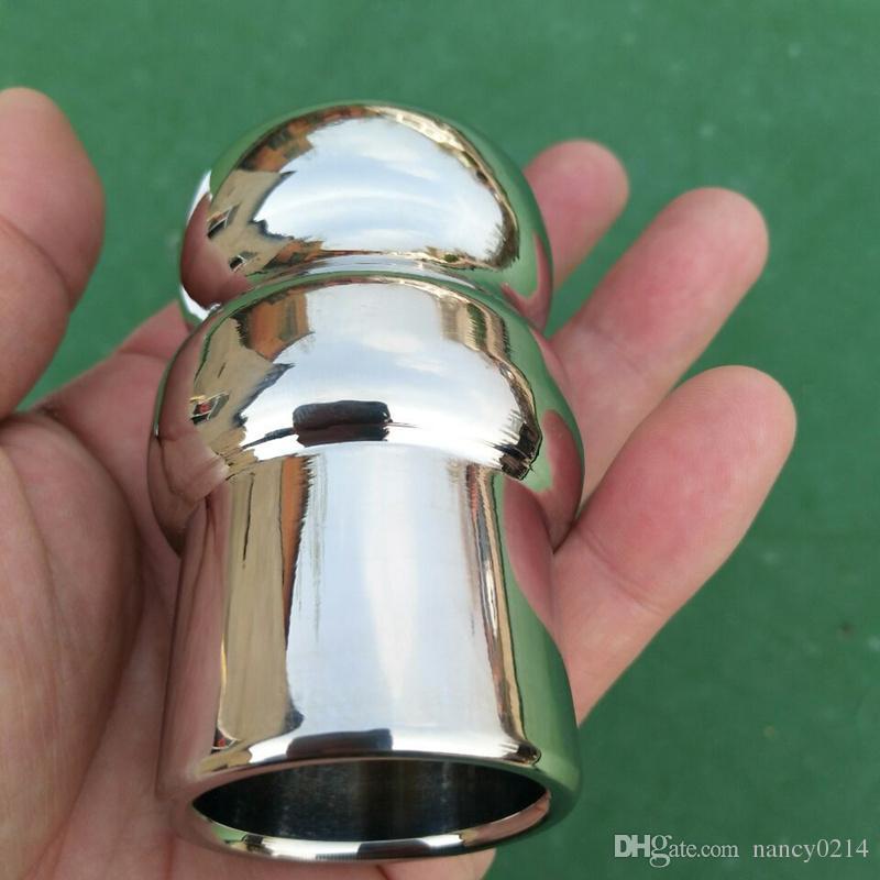 Spina anale Apertura Plug in acciaio inox Anus Expander G-spot Stimolatore Anus Dilatatore donna Uomo H8-1-81
