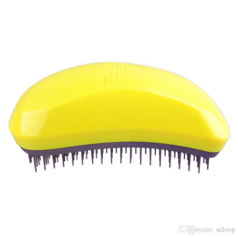 Professional Salon Elite Hair Brush Portable Magic Antistatic comb Hair Probucts Detangle tangle Hair Brush Styling 3006016