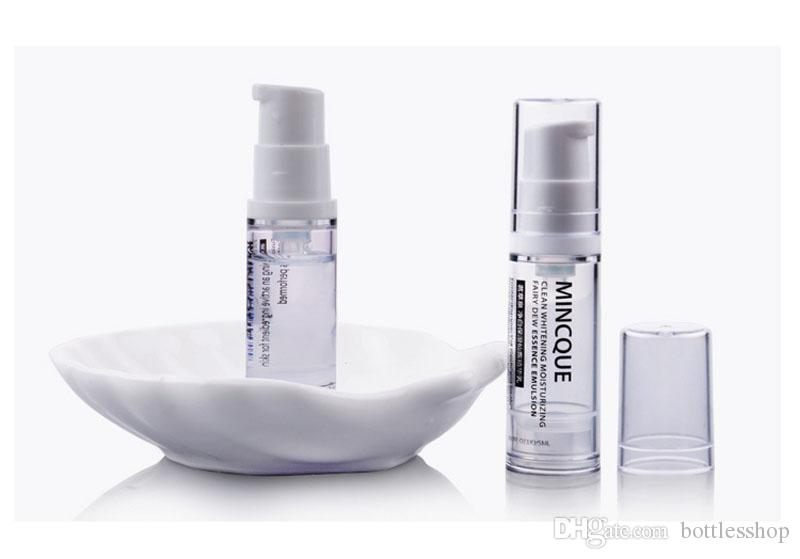 Fast delivery 5ml Travel Lotion Bottles Container Clear Spray Bottle Makeup vacuum lotion Refillable Bottles Made in China