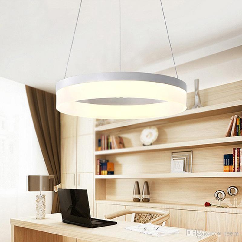 Compre Moderno LED Luces Colgantes Para El Comedor Lamparas ...