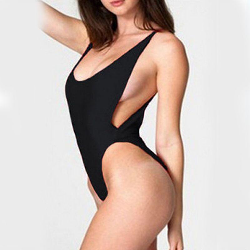 Bikini Women Bodysuit Bathing suits Beach Wear White One Piece Backless Swimwear Sexy Bandage High Cut One Piece Monokini Swimsuit For DHL