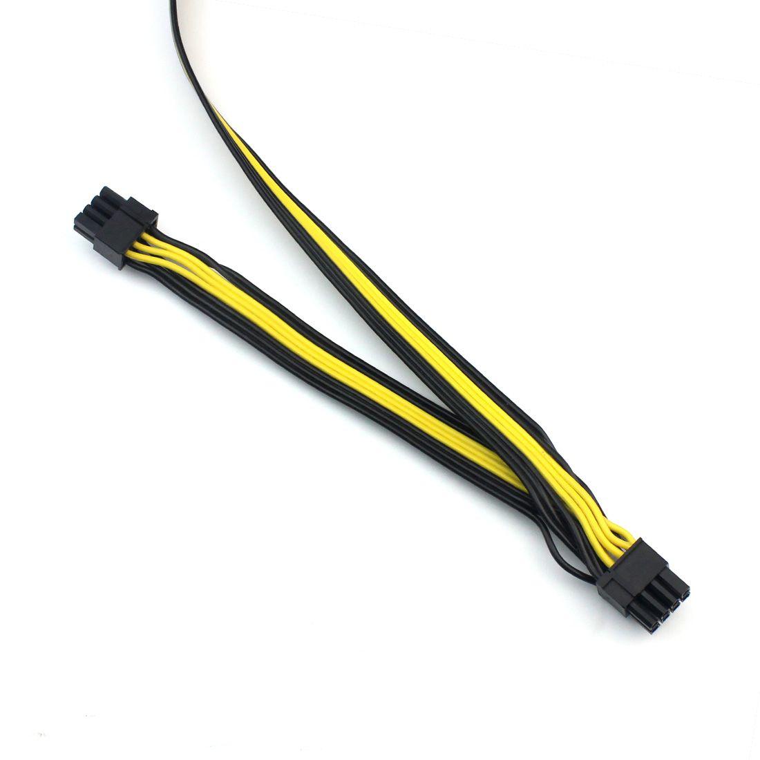 F22452 XT-XINTE 6 P zu 8 P 6 + 2 Server Power Conversion Board Grafikmodul Netzkabel 60 + 20 CM