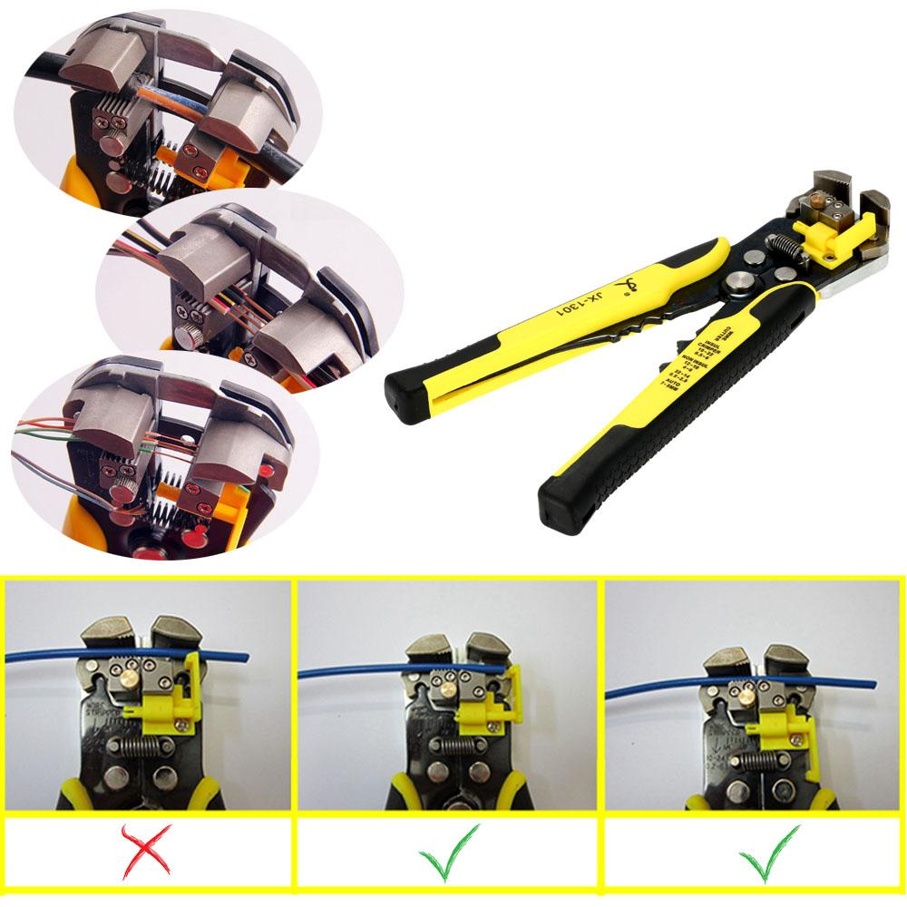 Automatisk kabelkabel Stripper Cutter Crimping Tool Multifunktionstång Multitool Plier MultiHerramienta Handverktyg Ferramenta