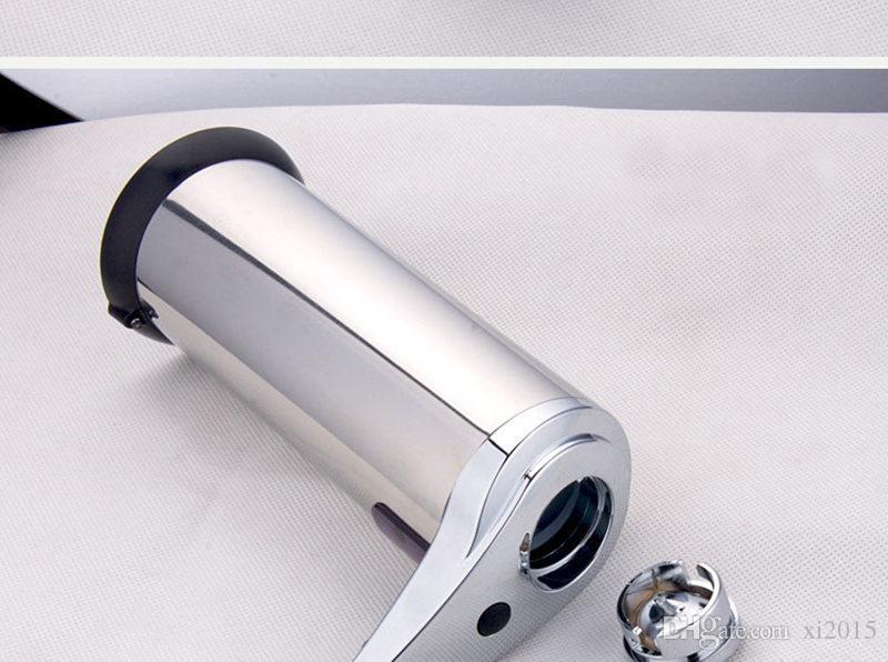 50 stücke CCA2985 Hohe Qualität Sensor Seifenspender Edelstahl Automatische Hände Waschen Maschine Tragbare Automatische Seifenspender