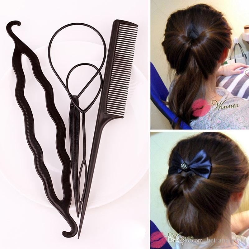 Fashion Hair Twist Styling Clip Stick Bun Maker Braid Tool Hair