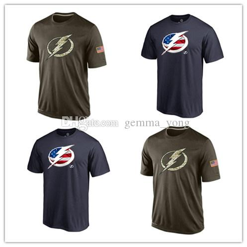 2019 Popular NHL Tampa Bay Lightning T Shirts 2017 Hockey Jerseys Cheap  Tshirts Lightning Salute To Service Camouflage Men Shirts Navy Blue From  Gemma yong bd2f44c49