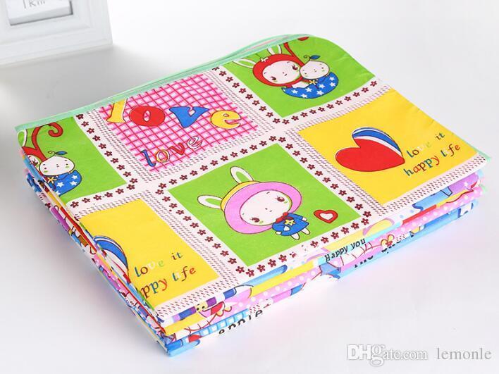 휴대용 신생아 유아 아기 변경 매트 방수 기저귀 기저귀 소변 패드 커버 천연 유기농면 유모차 침대 시트